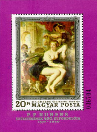[The 400th Anniversary of the Birth of Peter Paul Rubens, Typ ]