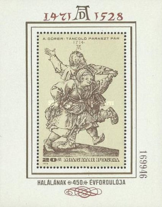 [The 450th Anniversary of the Death of Durer, 1471-1528, Typ ]