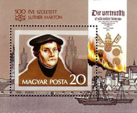 [The 500th Anniversary of the Birth of Marthin Luther, 1483-1546, Typ ]