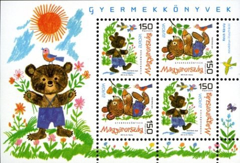 [EUROPA Stamps - Children's Books, Typ ]