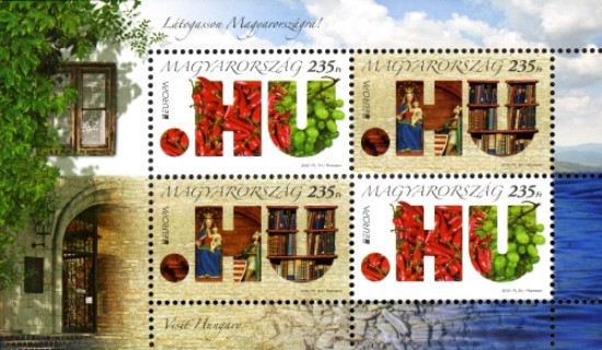 [EUROPA Stamps - Visit Hungary, type ]