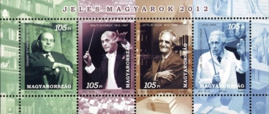 [Remarkable Hungarians - 100th Birth Anniversaries, type ]