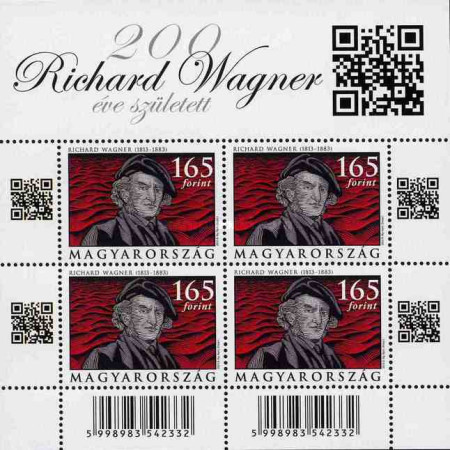 [The 200th Anniversary of the Birth of Wilhelm Richard Wagner, 1813-1883, Typ ]