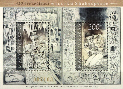 [The 450th Anniversary of the Birth of William Shakespeare, 1564-1616, type ]
