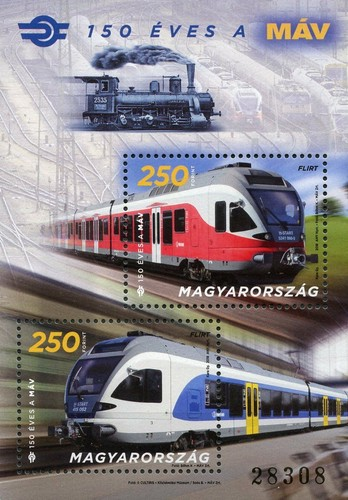 [The 150th Anniversary of the Hungarian State Railways, Typ ]