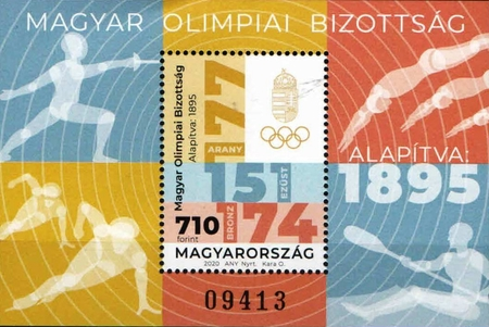 [The 125th Anniversary of the Hungarian Olympic Committee, type ]