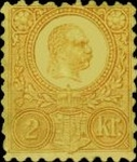 [King Franz Joseph  - Lithographed, type A1]