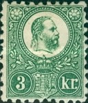 [King Franz Joseph - Engraved, Typ A10]