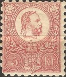 [King Franz Joseph - Engraved, Typ A11]