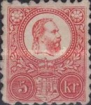 [King Franz Joseph - Engraved, type A12]