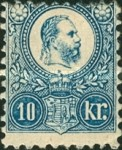 [King Franz Joseph - Engraved, Typ A13]