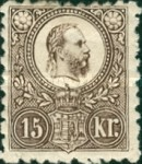[King Franz Joseph - Engraved, type A14]