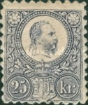 [King Franz Joseph - Engraved, Typ A15]