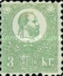 [King Franz Joseph  - Lithographed, type A2]