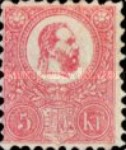 [King Franz Joseph  - Lithographed, type A3]