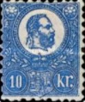 [King Franz Joseph  - Lithographed, type A5]
