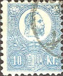 [King Franz Joseph  - Lithographed, type A6]