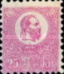 [King Franz Joseph  - Lithographed, type A8]