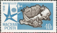 [Airmail - Universal and International Exposition, Brussels, Typ AZP]
