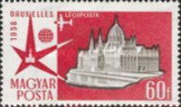 [Airmail - Universal and International Exposition, Brussels, Typ AZQ]