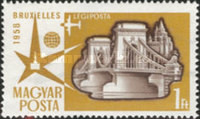 [Airmail - Universal and International Exposition, Brussels, Typ AZR]