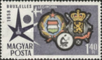 [Airmail - Universal and International Exposition, Brussels, Typ AZS]