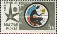 [Airmail - Universal and International Exposition, Brussels, Typ AZV]