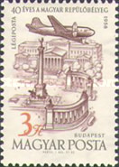[Airmail - The 40th Anniversary of the Hungarian Airmail Stamps, Typ BBA]