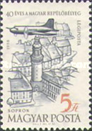 [Airmail - The 40th Anniversary of the Hungarian Airmail Stamps, Typ BBB]
