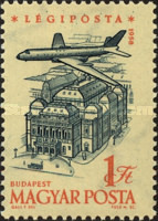 [Airmail - Airplanes over Landmarks, Typ BBH]