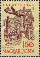 [Airmail - Airplanes over Landmarks, Typ BBI]