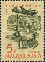 [Airmail - Airplanes over Landmarks, Typ BBL]