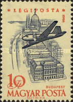 [Airmail - Airplanes over Landmarks, Typ BBM]