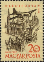 [Airmail - Airplanes over Landmarks, Typ BBN]
