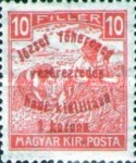 [Reaper Stamps of 1916 Overprinted - Archduke Gen. Joseph's Military Exhibition, type BD]