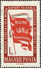 [The 7th Congress of the Hungarian Socialist Workers` Party, Typ BEG]