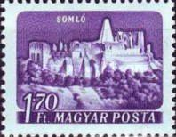 [Castles and Fortresses - Coloured Paper, type BEV1]