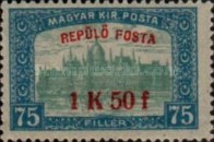 [Airmail - Parliament Stamps of 1917 Surcharged, type BF]