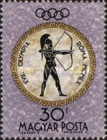 [Olympic Games - Rome, Italy, type BGB]