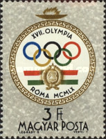 [Olympic Games - Rome, Italy, type BGJ]