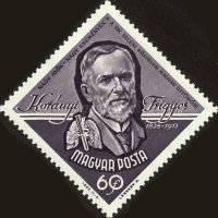 [The 50th Anniversary of the Death of Frigyes Koranyi, 1828-1913, type BOZ]