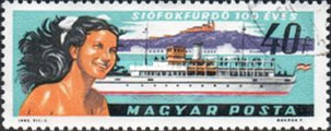 [The 100th Anniversary of the Resort Siofok, type BPS]