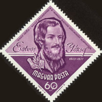 [The 150th Anniversary of the Birth of Jozsef Eotvos, 1813-1871, type BQS]