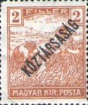 [War Charity Stamps - Reaper and Parliament Stamps Overprinted, type BS]