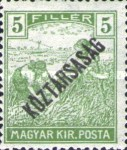 [War Charity Stamps - Reaper and Parliament Stamps Overprinted, type BS3]
