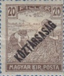 [War Charity Stamps - Reaper and Parliament Stamps Overprinted, type BS6]