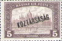 [War Charity Stamps - Reaper and Parliament Stamps Overprinted, type CA3]