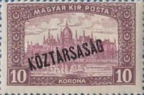 [War Charity Stamps - Reaper and Parliament Stamps Overprinted, type CA4]