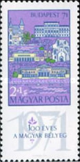 [Stamp Exhibition BUDAPEST 71, type COC]