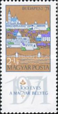 [Stamp Exhibition BUDAPEST 71, type COD]